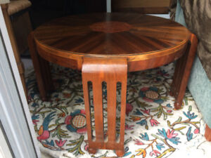 Antique McLagan Round-ٍ Shape Coffee table $95