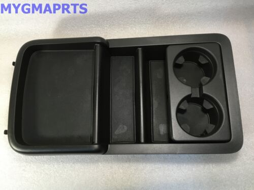 Silverado Gmc Sierra Black Center Console Tray W   Cup