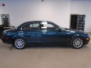 2002 JAGUAR S-TYPE V8 1 OWNER! ONLY 88,000KMS MINT! ONLY $7,900!