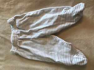 Pants 4 pairs 0-3 months