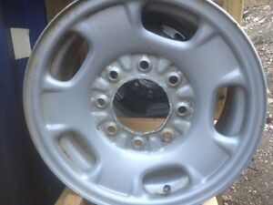 GMC / Chevy 3500.   (2011 up ONLY) steel rims.