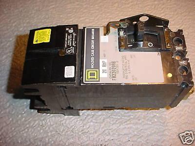 Sq-d 20 Amp 2 Pole I Line Fa24020 Ab 240v