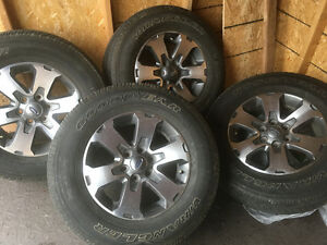 "Ford 18"" rims and tires"