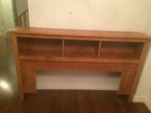 Solid Wood Bed board _ Queen Size