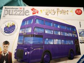Harry potter puzzle bus