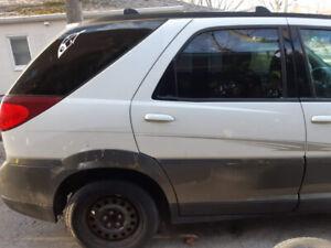 Buick Rendezvous for fixer upper, parts or scrap