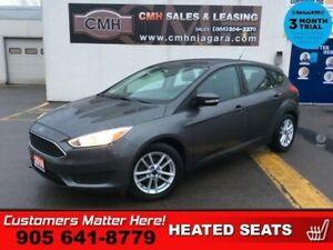 2016 Ford Focus SE  CAMERA HTD-SEATS HTD-STEER ING WHEEL  ALLOYS
