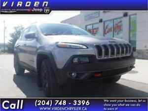 2018 Jeep Cherokee Trailhawk 4x4 - Sunroof - Leather Seats - $24