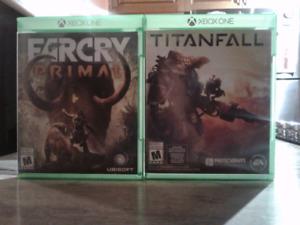 Jeux Xbox One (Farcy Primal et Titanfall)