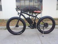 Electric FAT Bicycle or Fat Ebike for all-season & multi-terrain