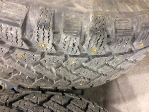 3 Studded Tires P195/60R/15