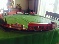 Collector's Christmas Coca Cola Train