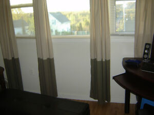 2 Sets of Good Quality Window Coverings