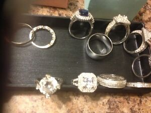 40  rings to choose from all new no tags  all sterling silver