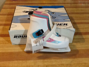 Bauer- L il Angel Girls Skates Size 10 Brand New in Box with Tag