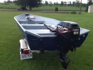 14' Aluminium boat package
