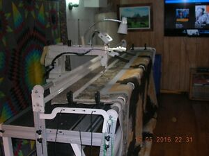 Longarm Quilting Machine priced for immediate sale