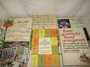 Gardening, House Plants, Bulbs, Geraniums, Seedlings and Flower