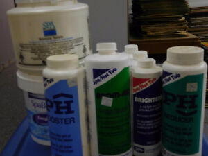 Hot Tub & Pool Chemicals  For Sale