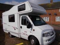 Elddis Autoquest 100 4 Berth 4 Traveling Seats Over-cab Bed Ref 9038