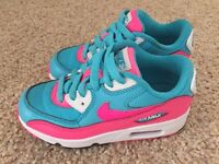 Children's Nike Air Max 90 Trainers - Size 11