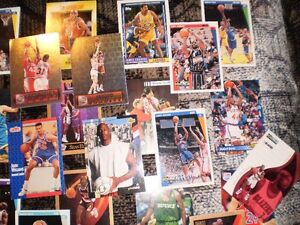 BASKETBALL CARDS FROM 1990'S APPROXIMATELY 35 cards for $15 Prince George British Columbia image 4