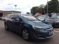 2013 Vauxhall Astra 2.0cdti Sri 5dr Est H139r 5 door Estate