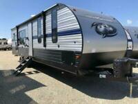 2019 Forest River Cherokee 274RK American Caravan Showman 5th Wheel RV Trailer