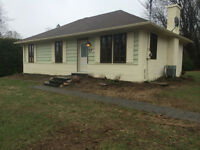 Hudson Bungalow for rent. Available now.
