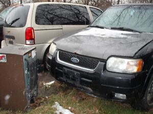 2005 FORD ESCAPE AWD INDIVIDUAL PARTS FOR SALE