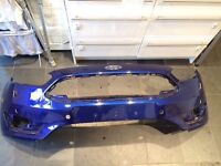 2016 Ford Focus Front Bumper (blue)