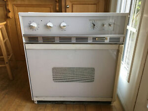 "27"" Kenmore wall oven"