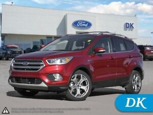 2017 Ford Escape Titanium   **Ford Certified Pre-Owned**