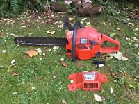 Husqvarna 141 chainsaw tree surgeon garden DIY bush cutter spares or repair