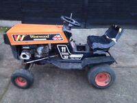 Westwood ride on mower spares or repairs