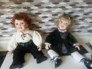 Collectible Irish Dolls
