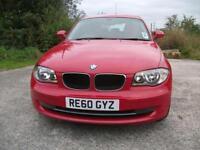 2010 60 BMW 1 SERIES 2.0 116D SE 5D 114 BHP