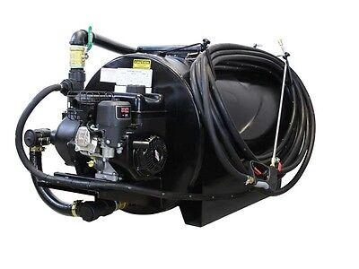 Asphalt Sealcoating Sprayer - 130 Gallons - 6.5 HP - Cast Iron Pump - 75 ft Hose