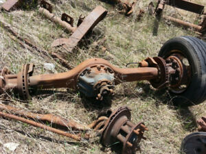 Heavy truck differentials and axles