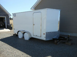 Enclosed 16 ft.Royal Cargo Utility Trailer