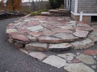 Flagstone rock for Landscaping
