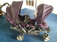 Graco double buggy for sale