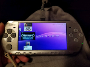 Modded PSP 3000 Bundle with 8+ games.