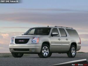 Recherché: GMC Yukon XL/Sierra ou Chevrolet Suburban/Silverado
