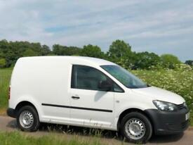 2012 [12] VOLKSWAGEN CADDY 1.6TDI [102] C20 PLUS TDI WHITE NO VAT SLIDING DOOR