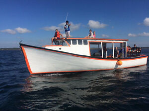 44' x 14'  Renovated Lobster Boat