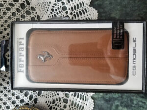 Mobile Phone Accessory Real leather hardcase for Samsung S4