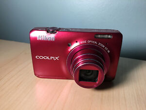 Nikon COOLPIX S6300 16 MP Digital Camera with Full HD 1080p Vide