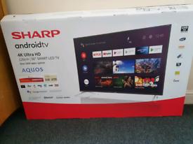 Andorid Sharp smart tv 4k HDR UHD 2021