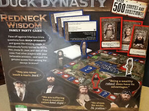 BRAND NEW DUCK DYNASTY REDNECK WISDOM FAMILY PARTY GAME London Ontario image 2
